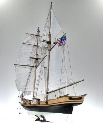 Baltimore Clipper model from the Art of Age of Sail