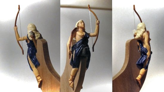Diana figurehead, Roman goddess of the hunt and wildlife
