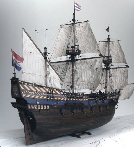 Dutch galleon 'Vergulde Leeuw'