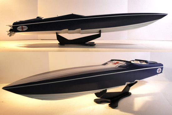 Image of powerboat model