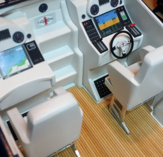 Image of Marauder 50 cockpit
