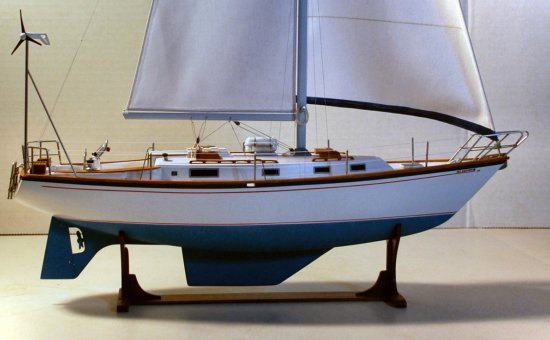 Image of sailboat model