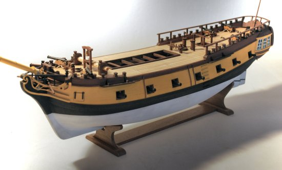 image of model deck details