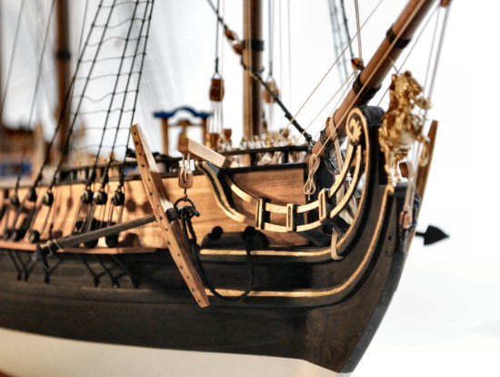 Image of Queen Anne's Revenge's bows