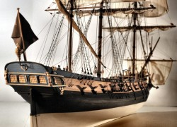 Design of Queen Anne's Revenge