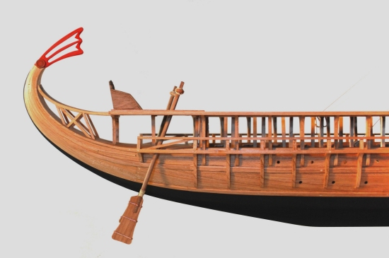 Image of trireme aft section