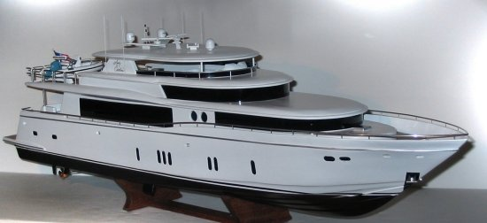 2008 - Johnson 103' Mega-Yacht model - Lady Caroline