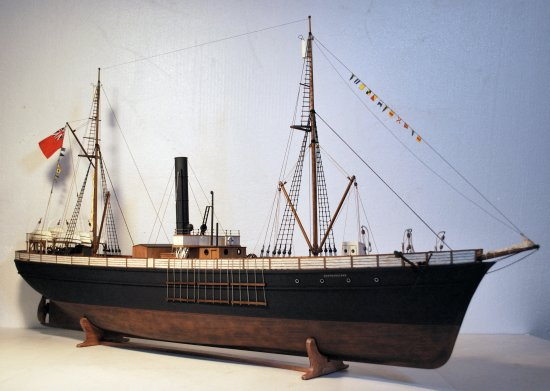Image of S.S. Newfoundland model