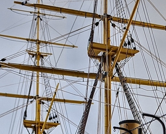Image of standing rigging