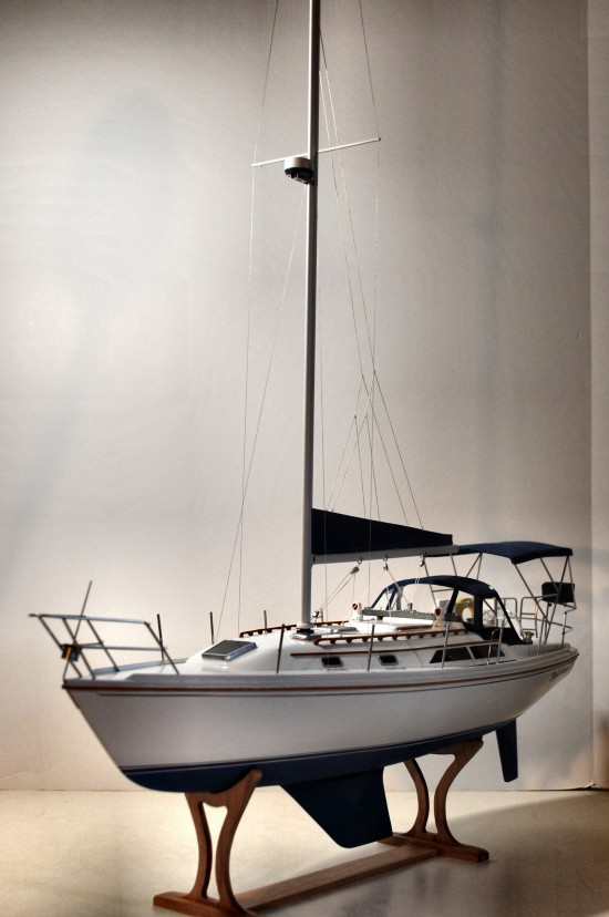 Image of Catalina sailboat model