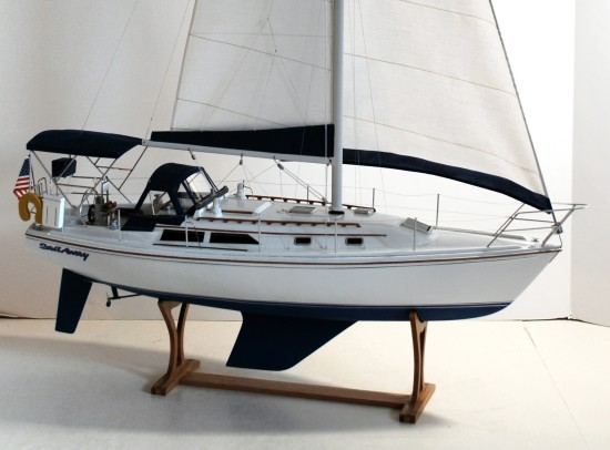 Image of Catalina 36 sailboat model