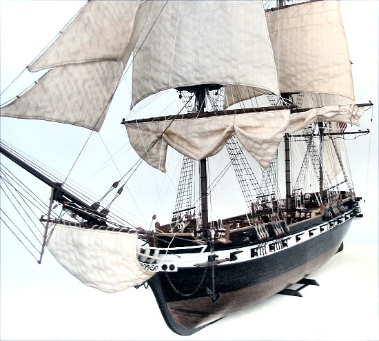 USS Constellation model from the Art of Age of Sail
