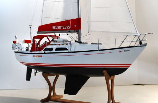 Image of C&C 32 sailboat model