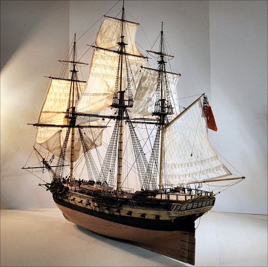 image of ship model
