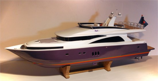 Custom Johnson 75 yacht