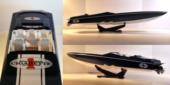 Image of offshore powerboat model