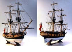 image of brig-sloop model