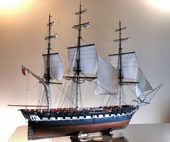 Image of USS President model