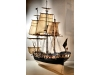Image of tall ship model